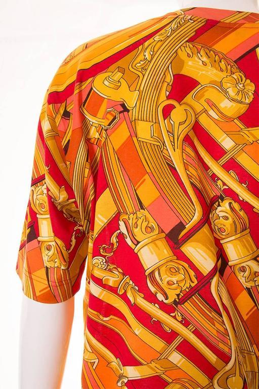 """Hermes """"Rythmes"""" Print Tshirt 6"""