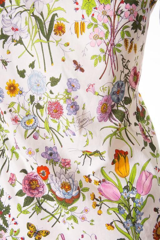 Gucci V. Accornero Iconic Flora Print Shirt 2