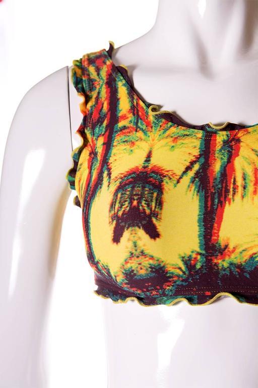 Jean Paul Gaultier 3D Tropical Print Swimsuit 6
