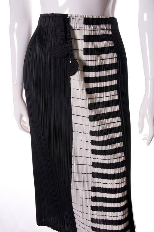 Issey Miyake Pleats Please Piano Key Skirt 5