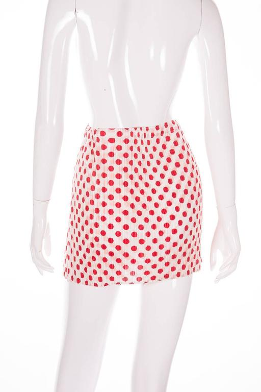 Issey Miyake Pleats Please Pop Art Mini Skirt 4