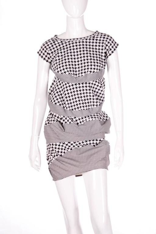 Junya Watanabe for Comme Des Garcons Houndstooth Dress 3