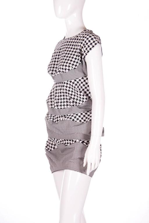 Junya Watanabe for Comme Des Garcons Houndstooth Dress 4