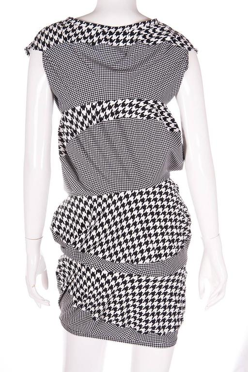 Junya Watanabe for Comme Des Garcons Houndstooth Dress 5