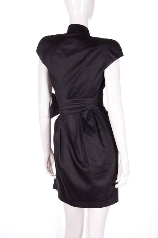 Thierry Mugler Plunging Wrap Dress 4