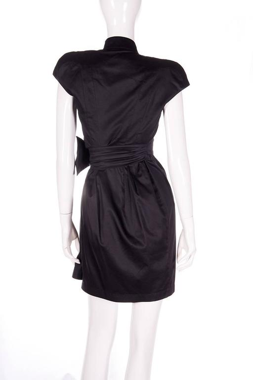 Thierry Mugler Plunging Wrap Dress 6