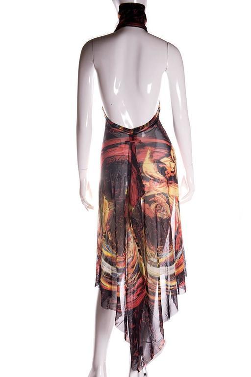 Jean Paul Gaultier Sheer Turtleneck Dress 4