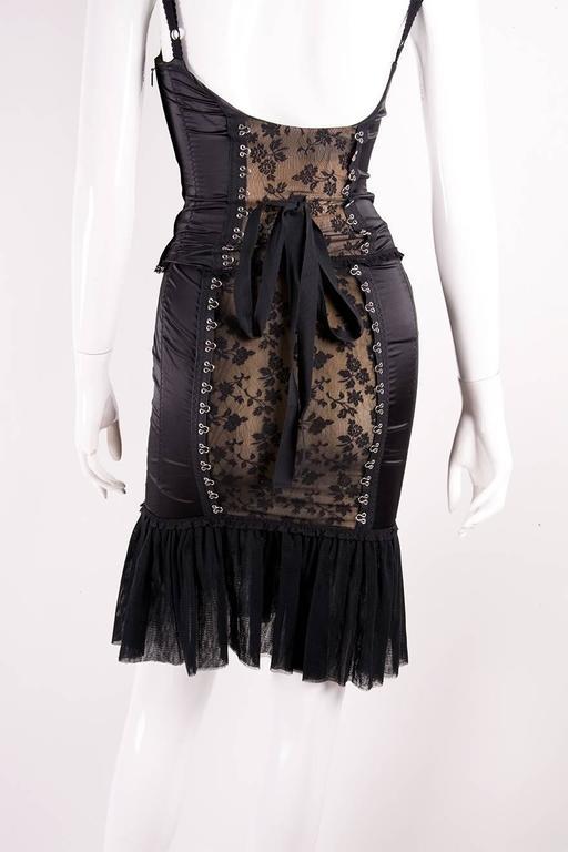 Moschino Satin Lace Corset and Skirt Set 2