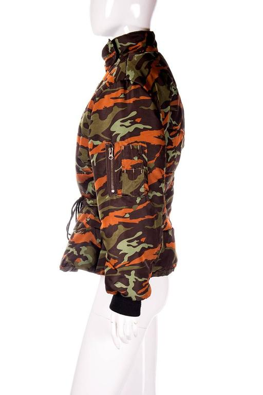 Jean Paul Gaultier Junior Camo Puffer Jacket 2