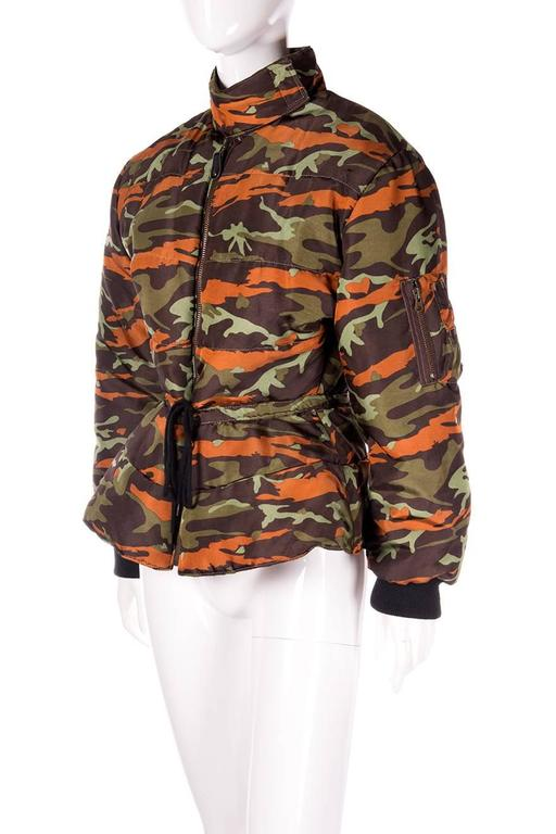 Jean Paul Gaultier Junior Camo Puffer Jacket 3