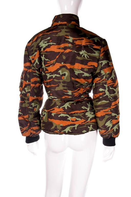 Jean Paul Gaultier Junior Camo Puffer Jacket 4