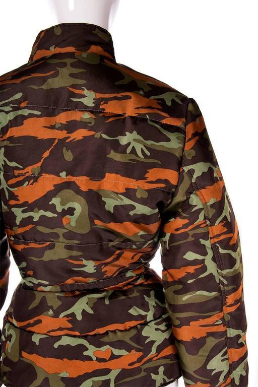 Jean Paul Gaultier Junior Camo Puffer Jacket 5