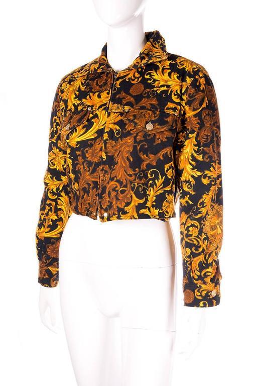 Versace Jeans CoutureBaroque Print Medusa Jacket 2