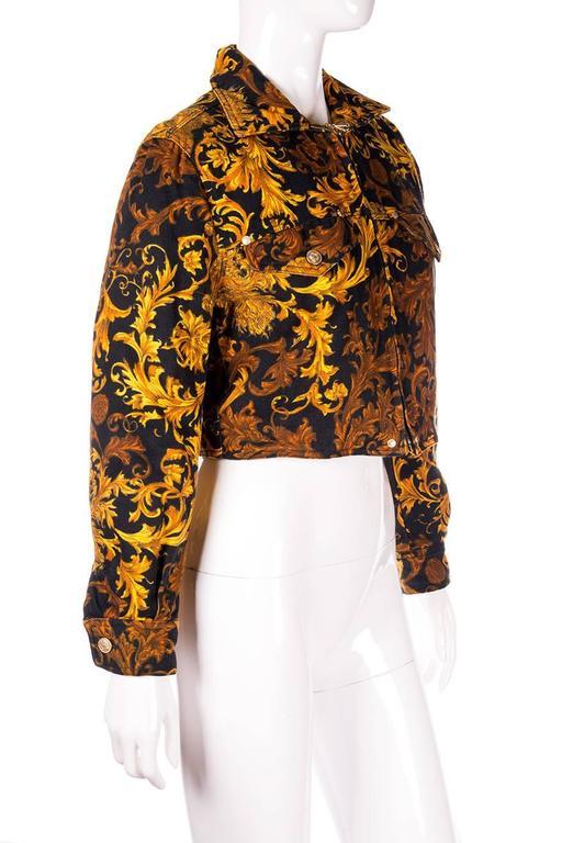 Versace Jeans CoutureBaroque Print Medusa Jacket 4