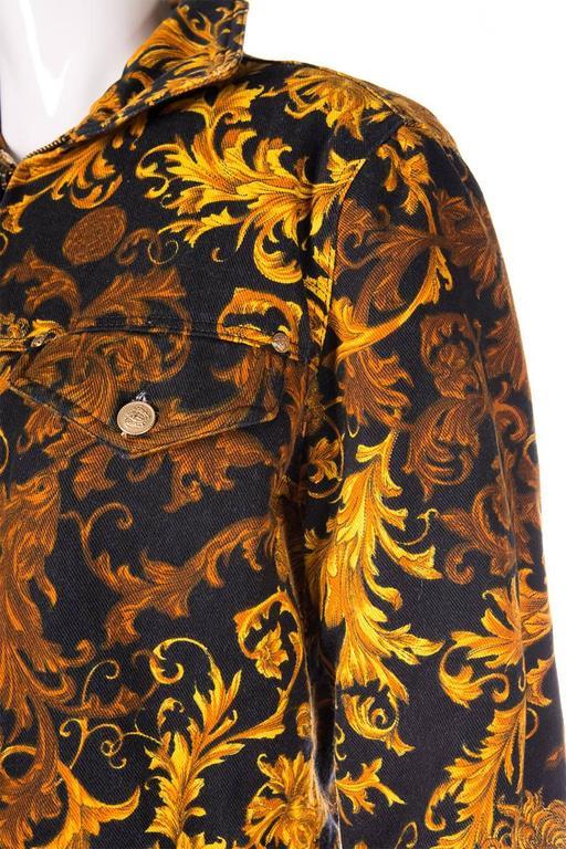 Versace Jeans CoutureBaroque Print Medusa Jacket 5