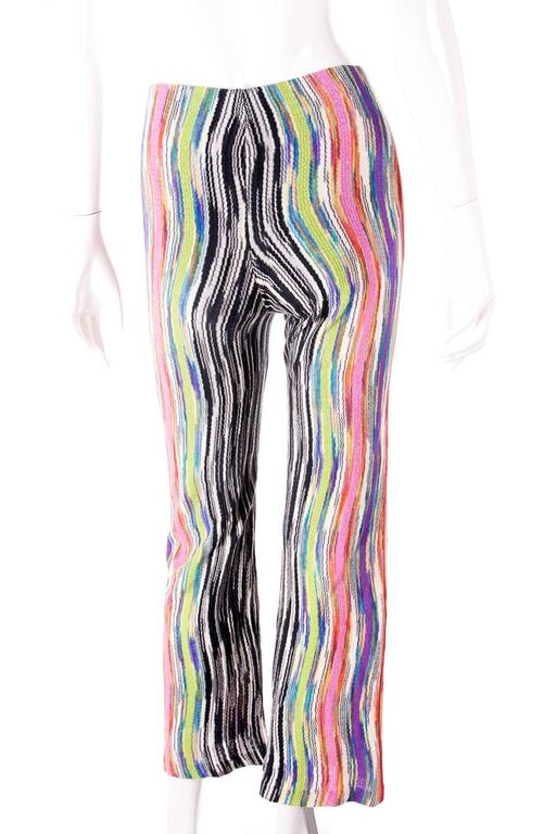 Missoni Flared Knit Pants 5