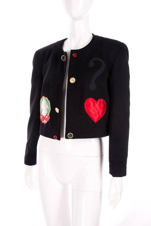 Moschino Cheap and Chic Applique Jacket 2