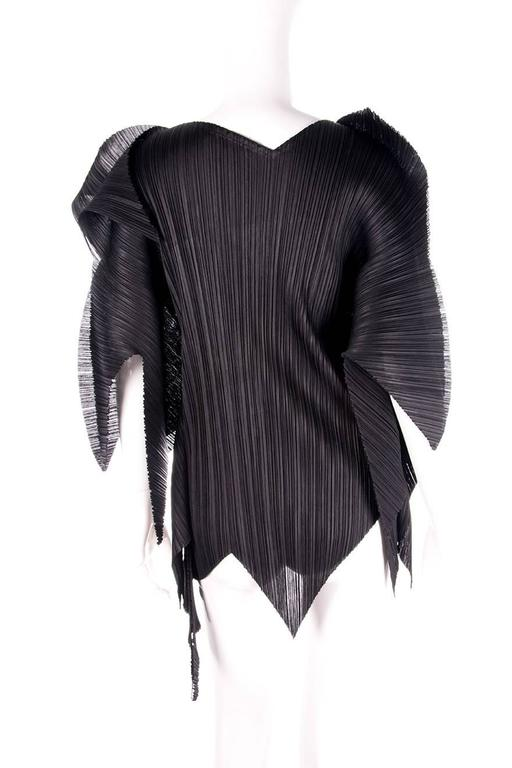Issey Miyake Pleats Please Rare Exclamation Mark Top 3