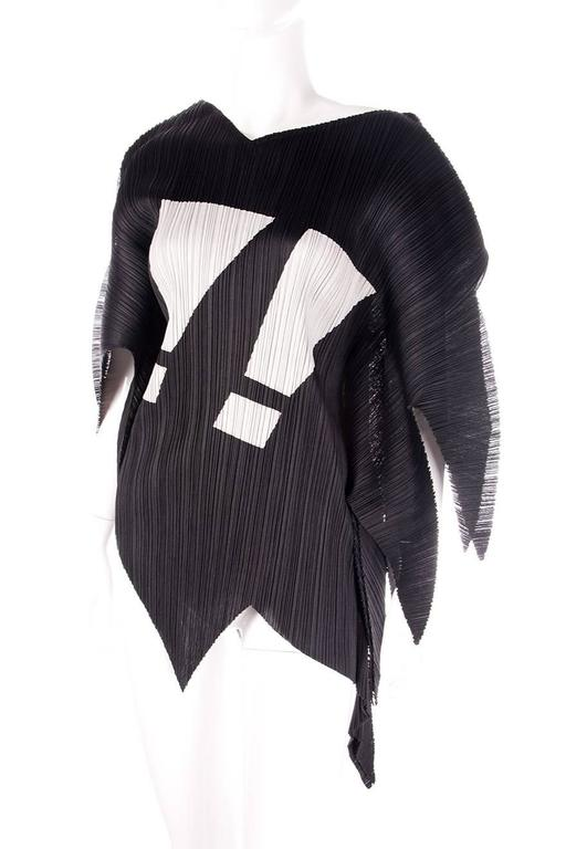 Issey Miyake Pleats Please Rare Exclamation Mark Top 4