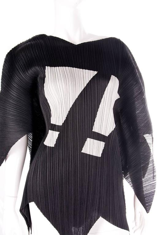 Issey Miyake Pleats Please Rare Exclamation Mark Top 5