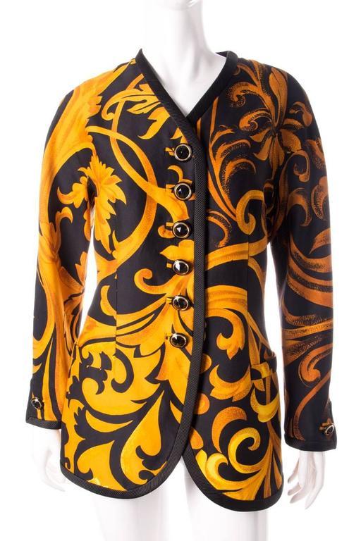 Gianni Versace Iconic 1991 Baroque Print Jacket 2