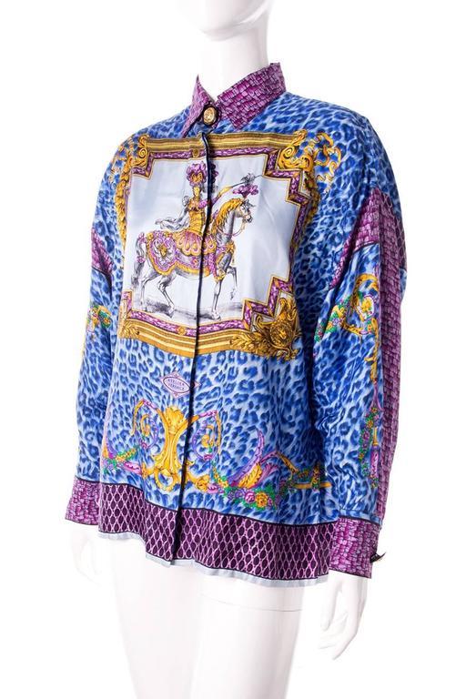 Gianni Versace Silk Rococo Shirt 2