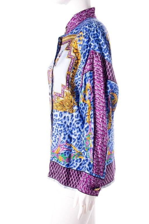 Gianni Versace Silk Rococo Shirt 3