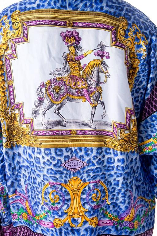 Gianni Versace Silk Rococo Shirt 5