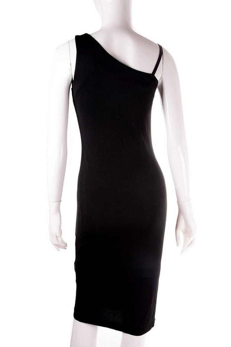Gucci Minimal One Shoulder Dress 3