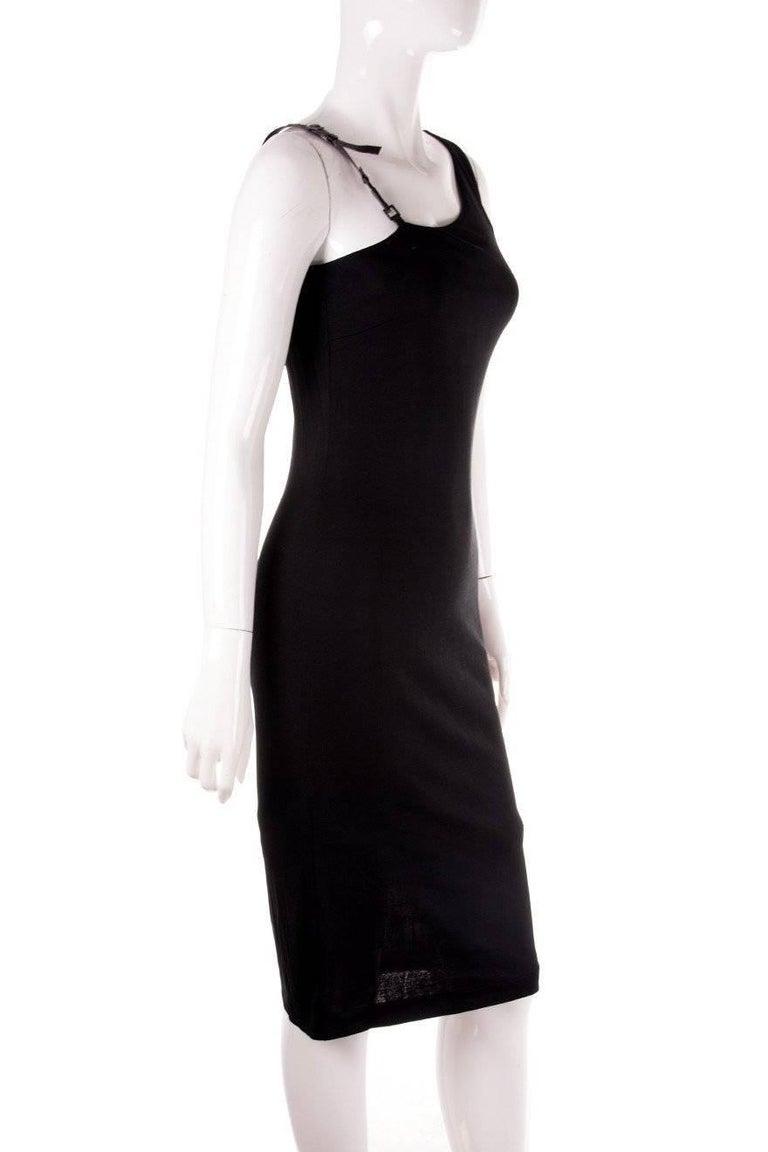 Gucci Minimal One Shoulder Dress 4