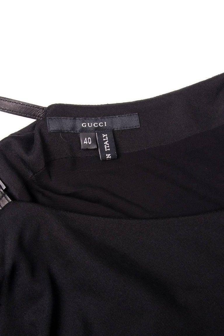 Gucci Minimal One Shoulder Dress 5