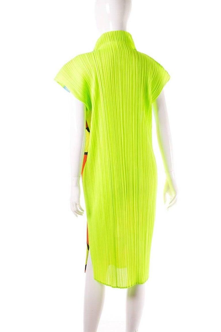 Issey Miyake Pleated Polkadot Dress 5
