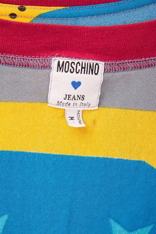 Moschino 'Ready to Where?' Cyclist Jersey 8