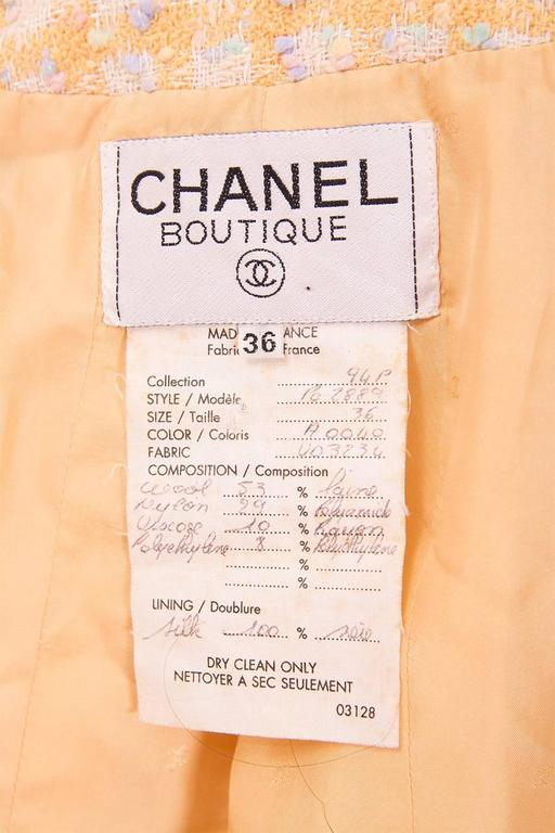 Important Chanel S/S 1994 Bra, Jacket and Short Set 9