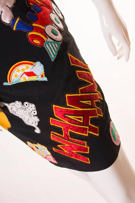 Documented Franco Moschino S/S 1988 Patch Dress 8