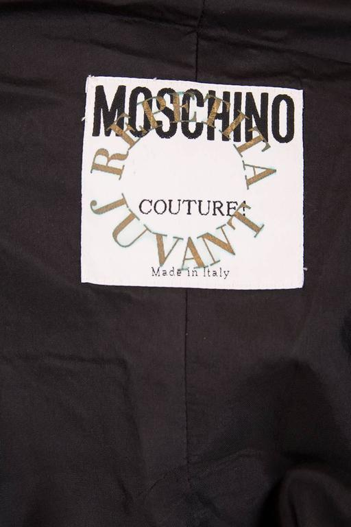 Documented Franco Moschino S/S 1988 Patch Dress 9