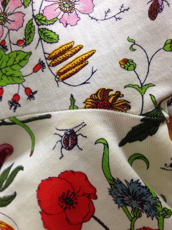 Gucci V. Accornero Iconic Flora Print Shirt 9