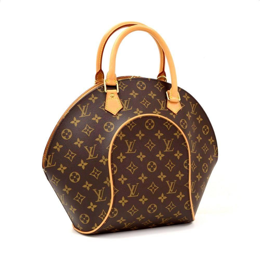 Louis Vuitton Ellipse Mm Monogram Canvas Hand Bag At 1stdibs