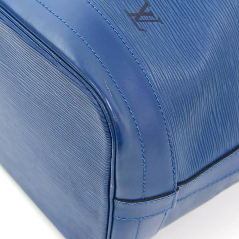 Louis Vuitton Noe Large Blue Epi Leather Shoulder Bag 7