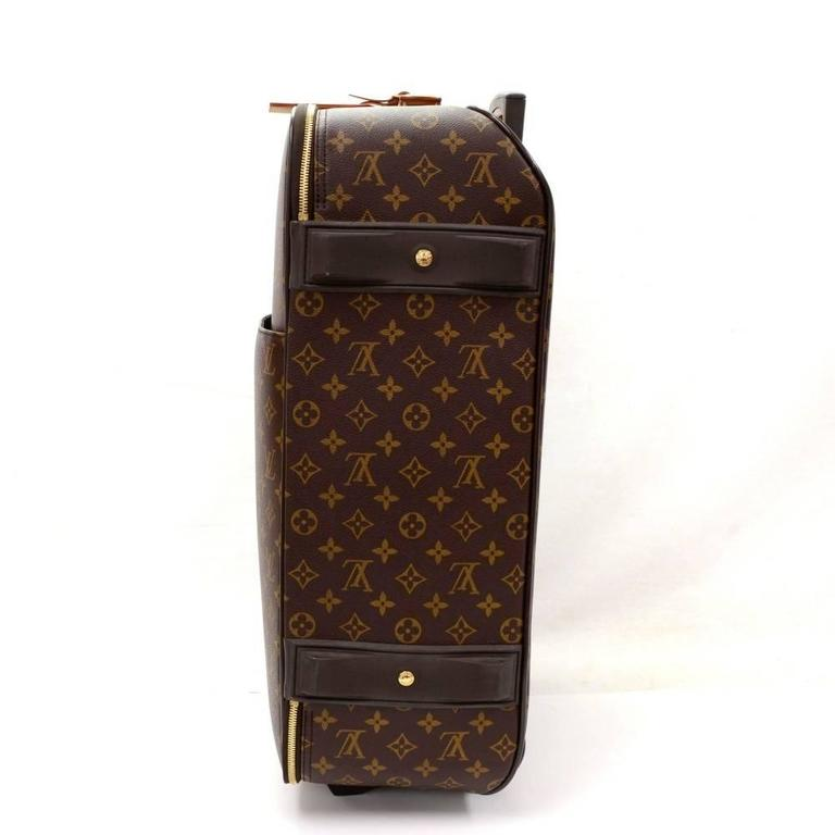 Louis Vuitton Pegase 50 Monogram Canvas Travel Rolling Luggage In Excellent Condition For Sale In Fukuoka, Kyushu