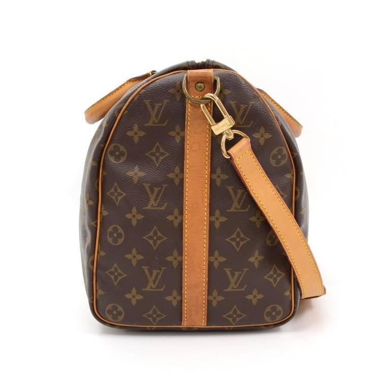 Vintage Louis Vuitton Keepall 45 Bandouliere Monogram Canvas Duffle Travel Bag 5