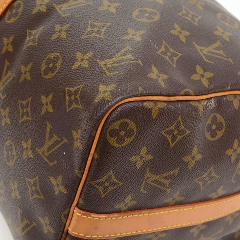 Vintage Louis Vuitton Keepall 45 Bandouliere Monogram Canvas Duffle Travel Bag 7