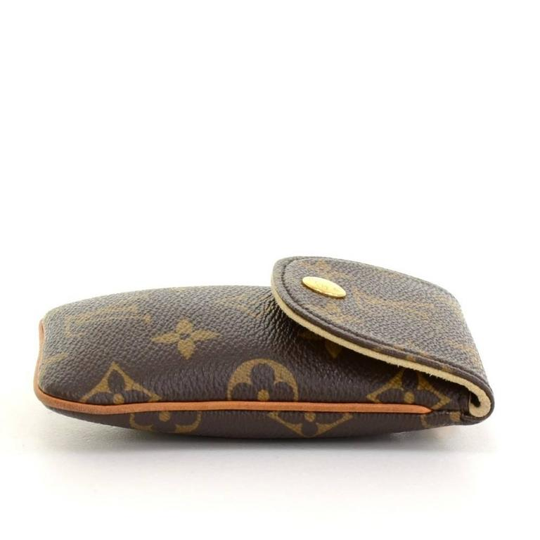 Louis Vuitton Etui Telephone Mm Monogram Canvas Phone Case