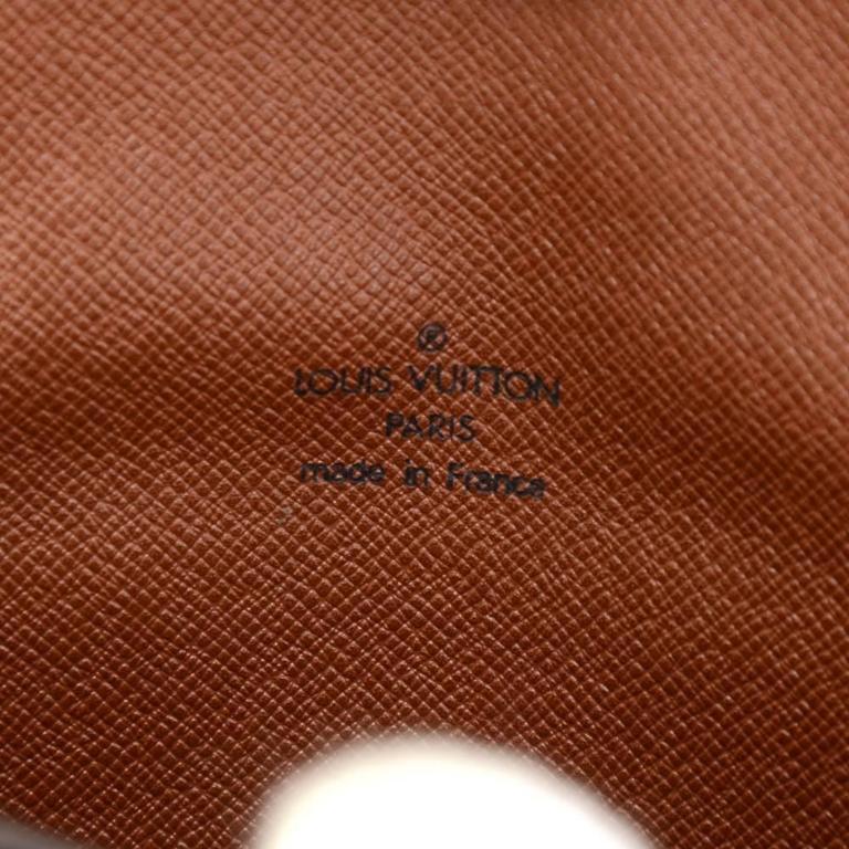 Louis Vuitton Pochette Arche Monogram Canvas Clutch Bag For Sale 3