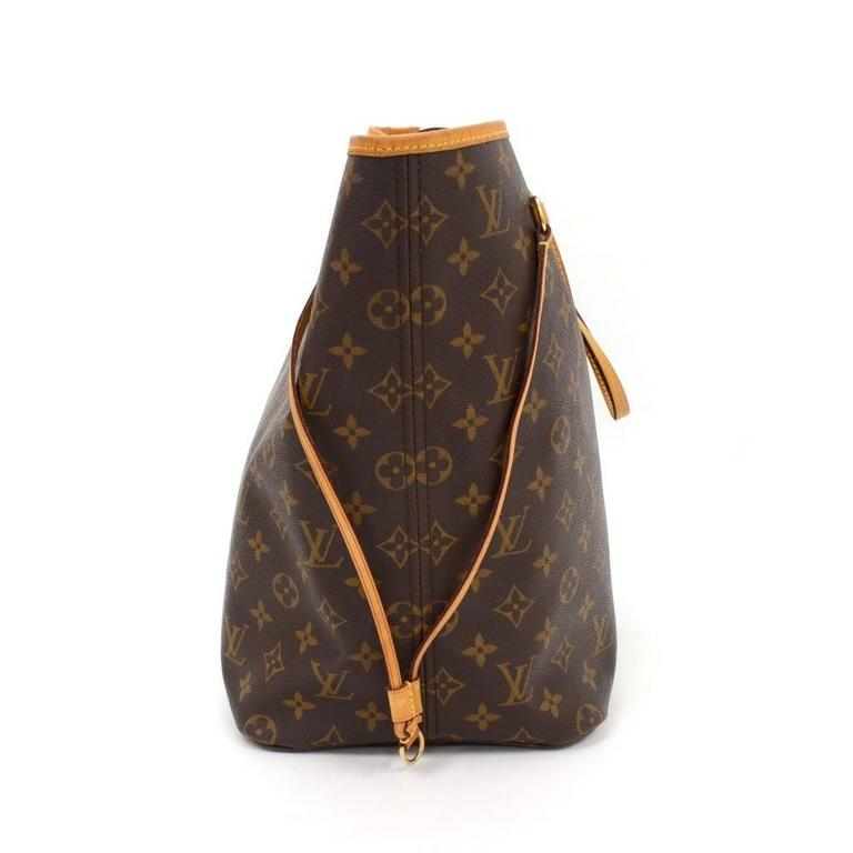 Louis Vuitton Neverfull GM Monogram Canvas Shoulder Tote Bag 5
