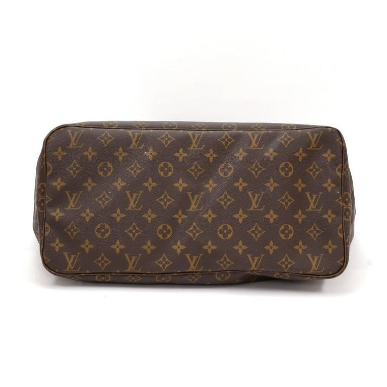 Louis Vuitton Neverfull GM Monogram Canvas Shoulder Tote Bag 6