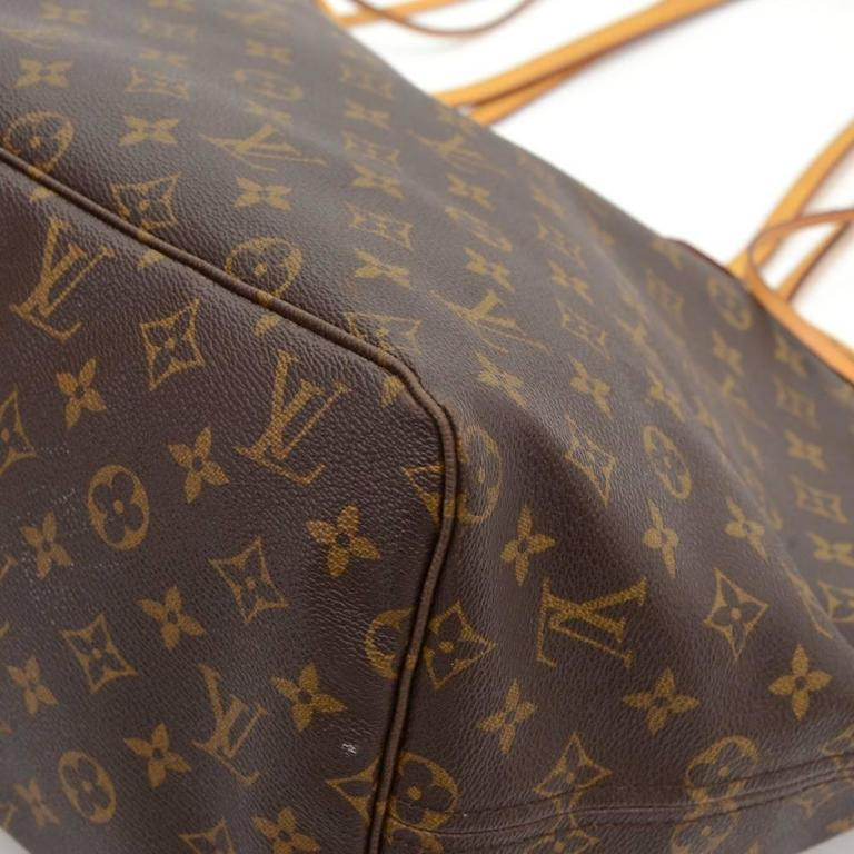 Louis Vuitton Neverfull GM Monogram Canvas Shoulder Tote Bag 7