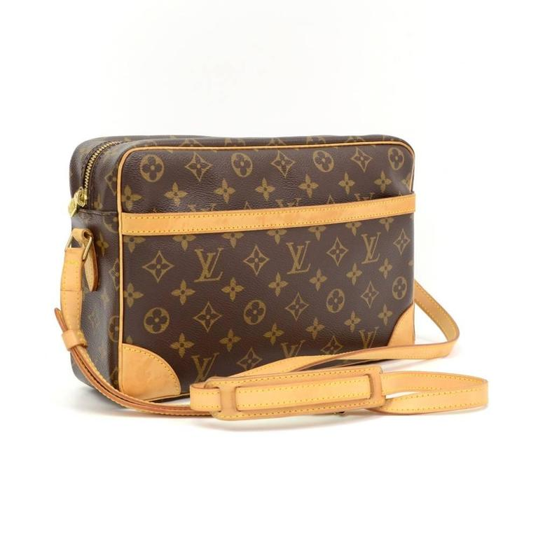 Louis Vuitton Trocadero 27 Monogram Canvas Shoulder Bag 2