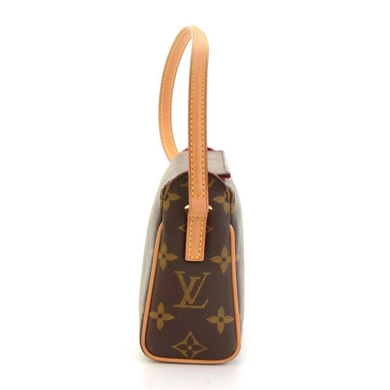 Louis Vuitton Recital Monogram Canvas Shoulder Hand Bag 4