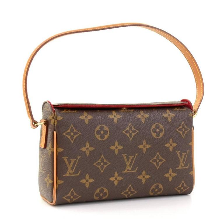 Louis Vuitton Recital Monogram Canvas Shoulder Hand Bag 2